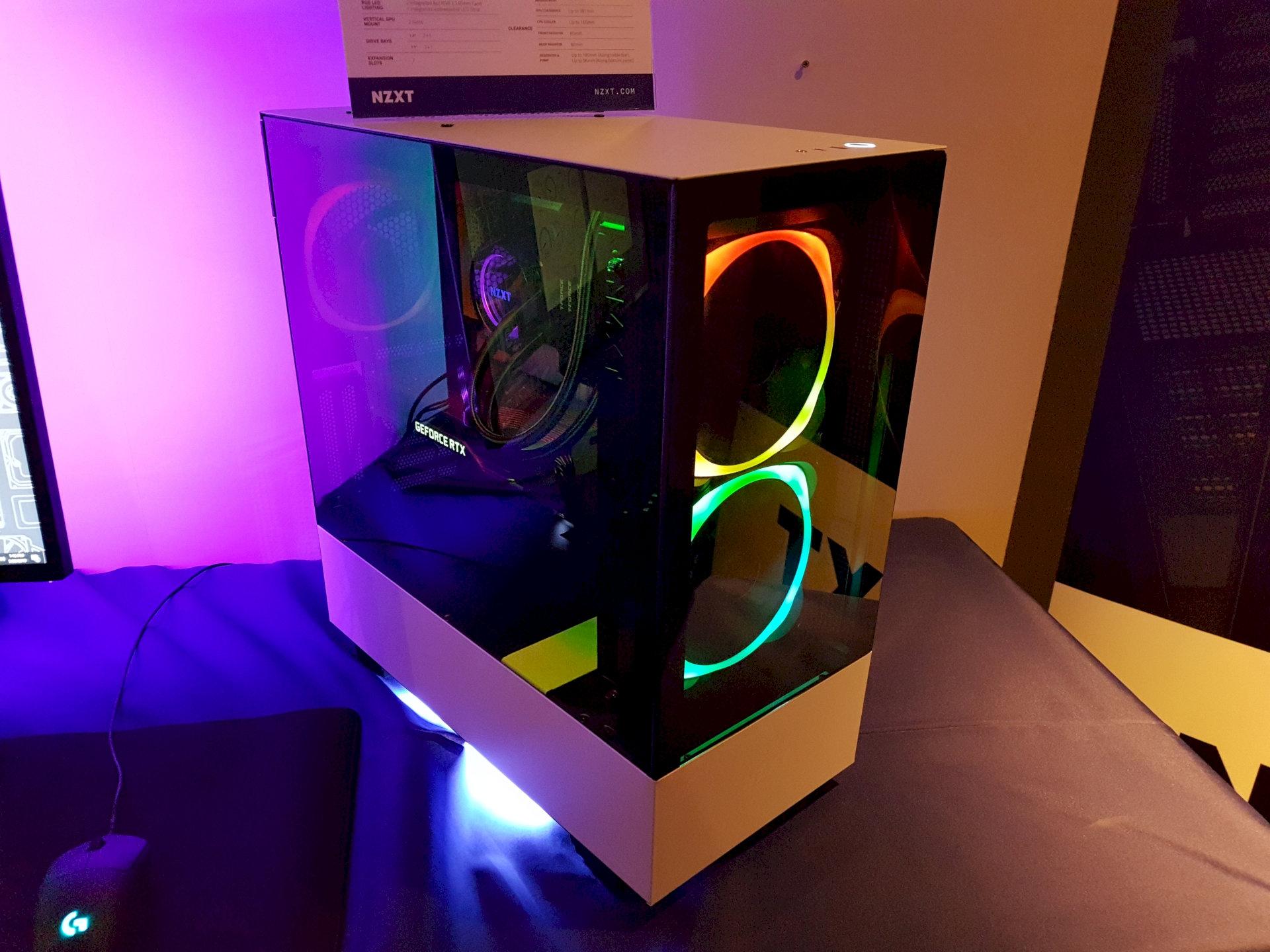 Image 3 : Computex : NZXT lance un très beau boîtier H510 Elite, verre trempé libéré des vis