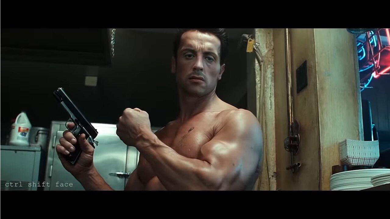 Image 1 : Vidéo : Stallone remplace Schwarzenegger dans Terminator 2 grâce à l'IA !