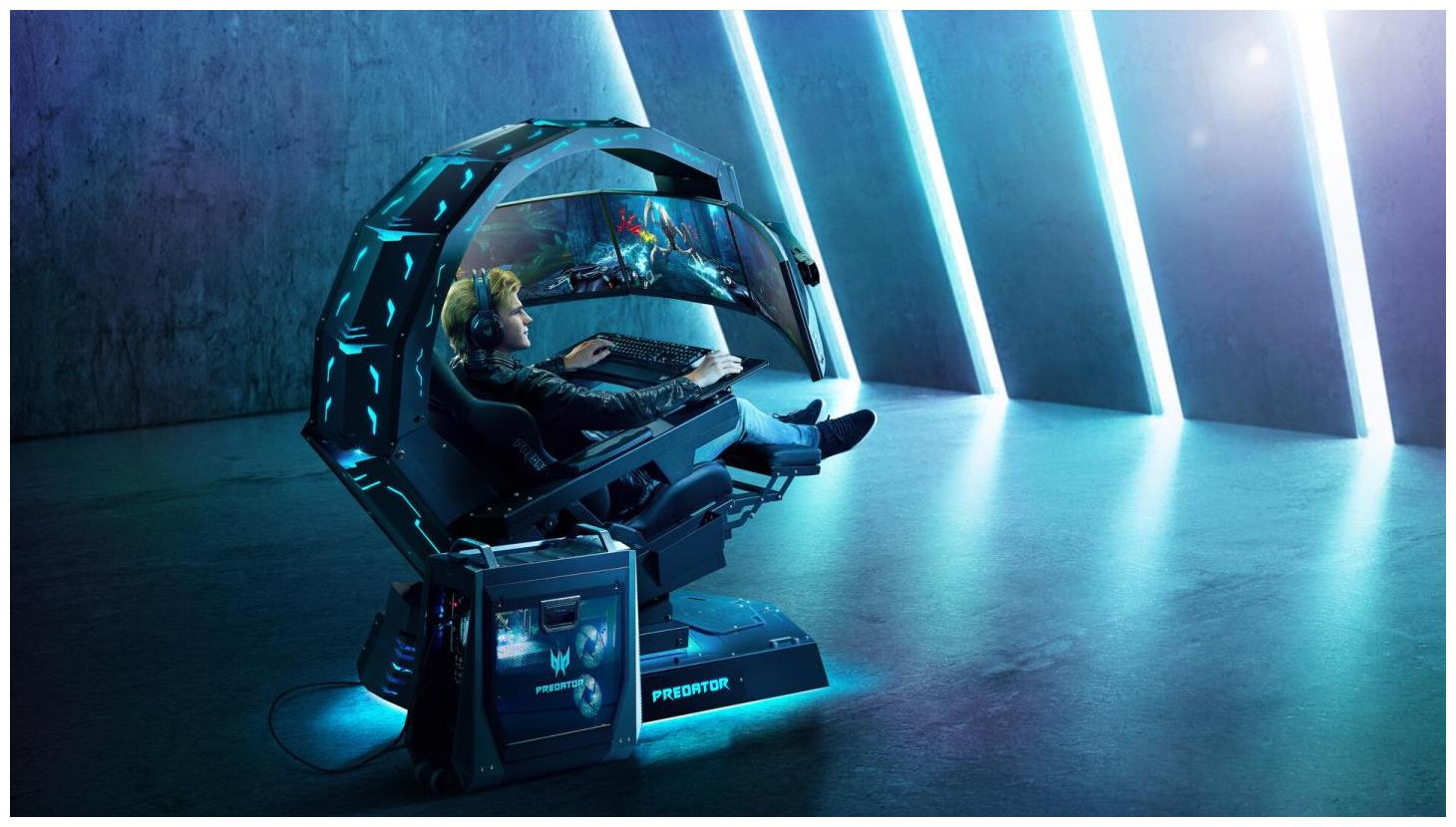 Image 1 : 18 000 euros pour l'énorme siège gaming Predator Thronos d'Acer !