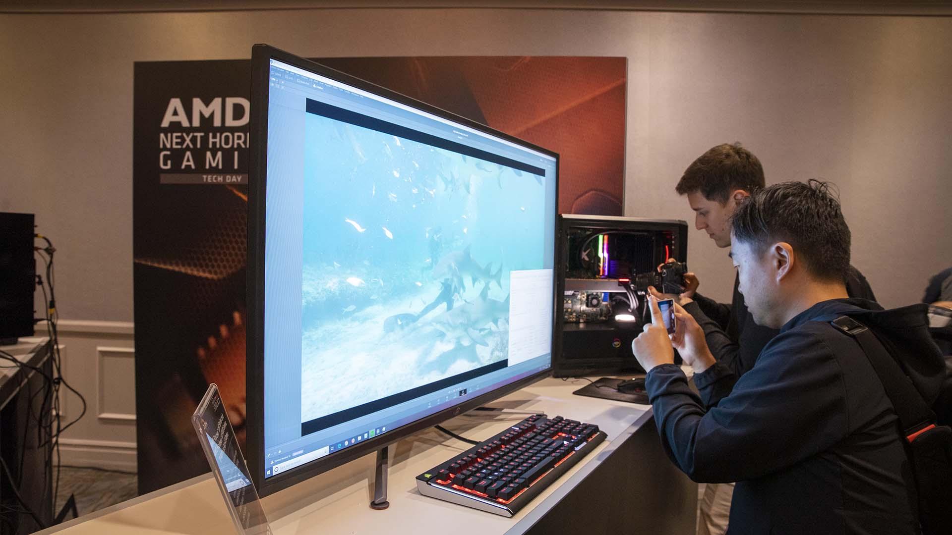 Image 3 : Asus signe le premier écran avec compression DisplayPort : 4K à 144 Hz !