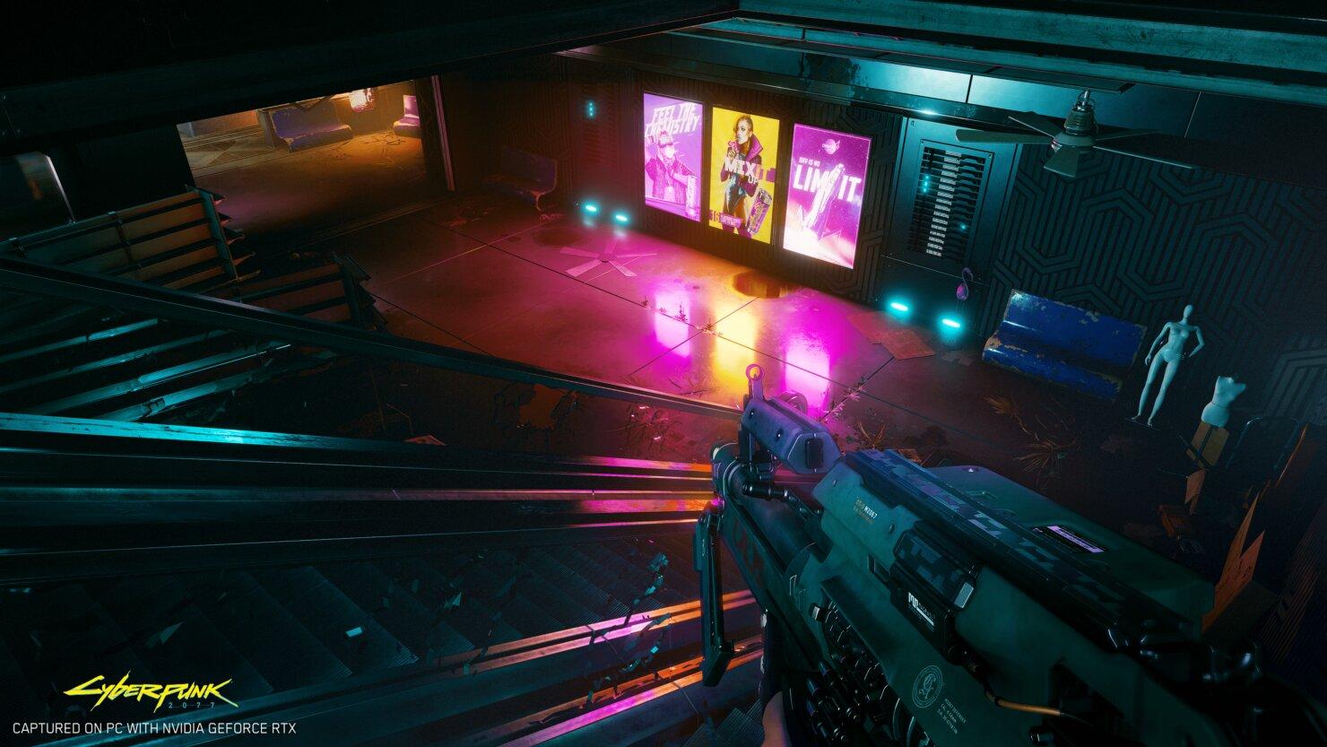 Image 1 : Du ray tracing pour Cyberpunk 2077 : premières images en mode 'RTX On'