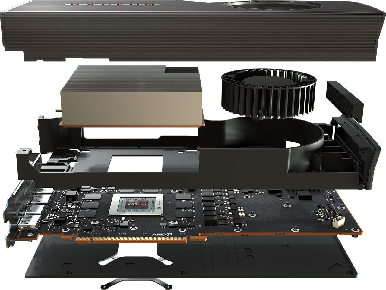 Image 7 : Radeon RX 5700 : pas de carte custom au lancement, premières photos réelles de la 5700 XT