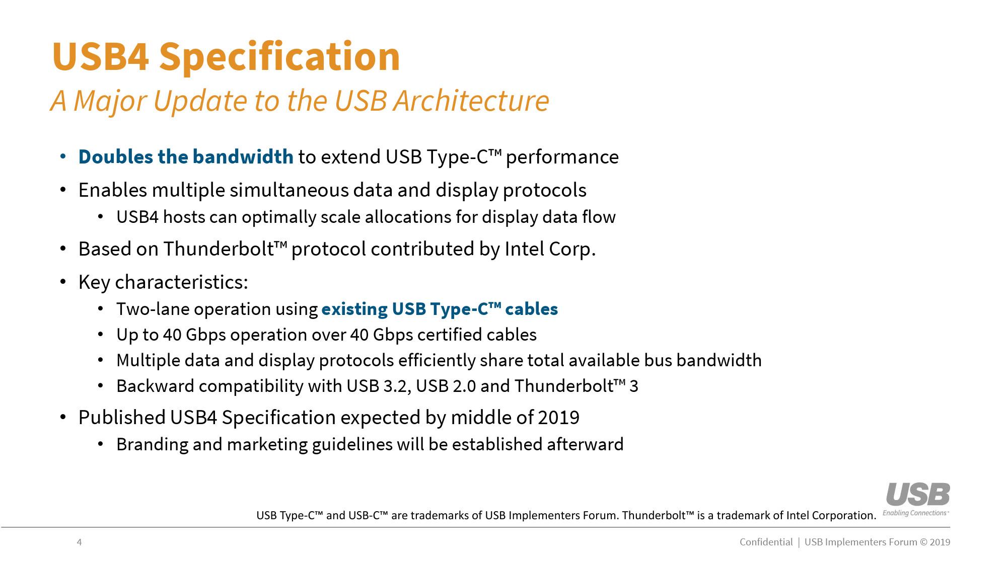 Image 1 : Une interface USB 4.0, ou USB4, dès 2020 ?
