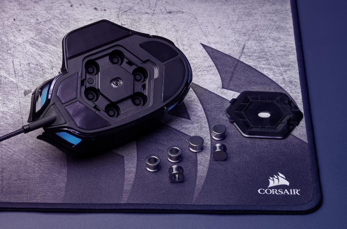 Image 5 : Deux nouvelles souris gaming Corsair : ambidextre ou modulaire ?