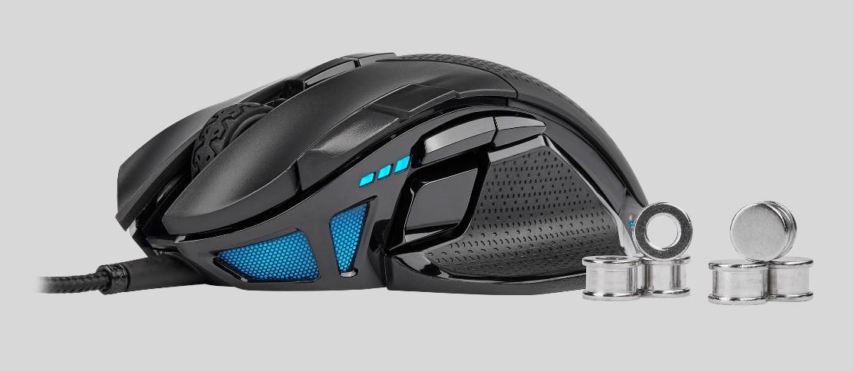 Image 4 : Deux nouvelles souris gaming Corsair : ambidextre ou modulaire ?