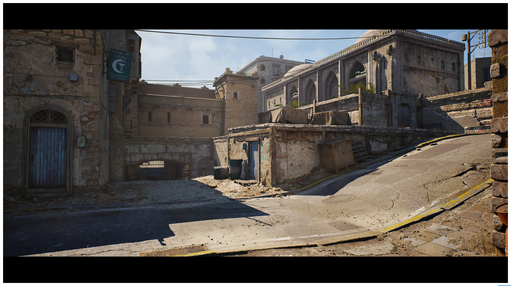Image 1 : Vidéo : la mythique map Dust 2 de Counter Strike refaite sous Unreal Engine 4