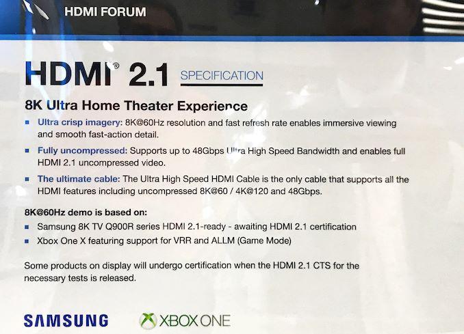 Image 1 : Le HDMI 2.1 sur des télévisions 8K d'ici quelques mois