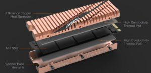 Image 5 : Gigabyte présente son SSD Aorus PCIe 4.0 avec un joli dissipateur thermique