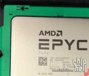 Image 2 : Un processeur EPYC Rome avec 32 cœurs et 64 threads apparait dans un benchmark