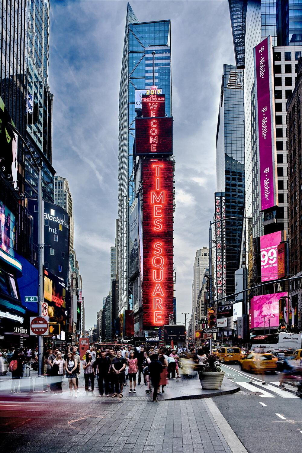 Image 1 : Vidéo : Samsung place un affichage LED d'une surface de 1000 m² à New York !