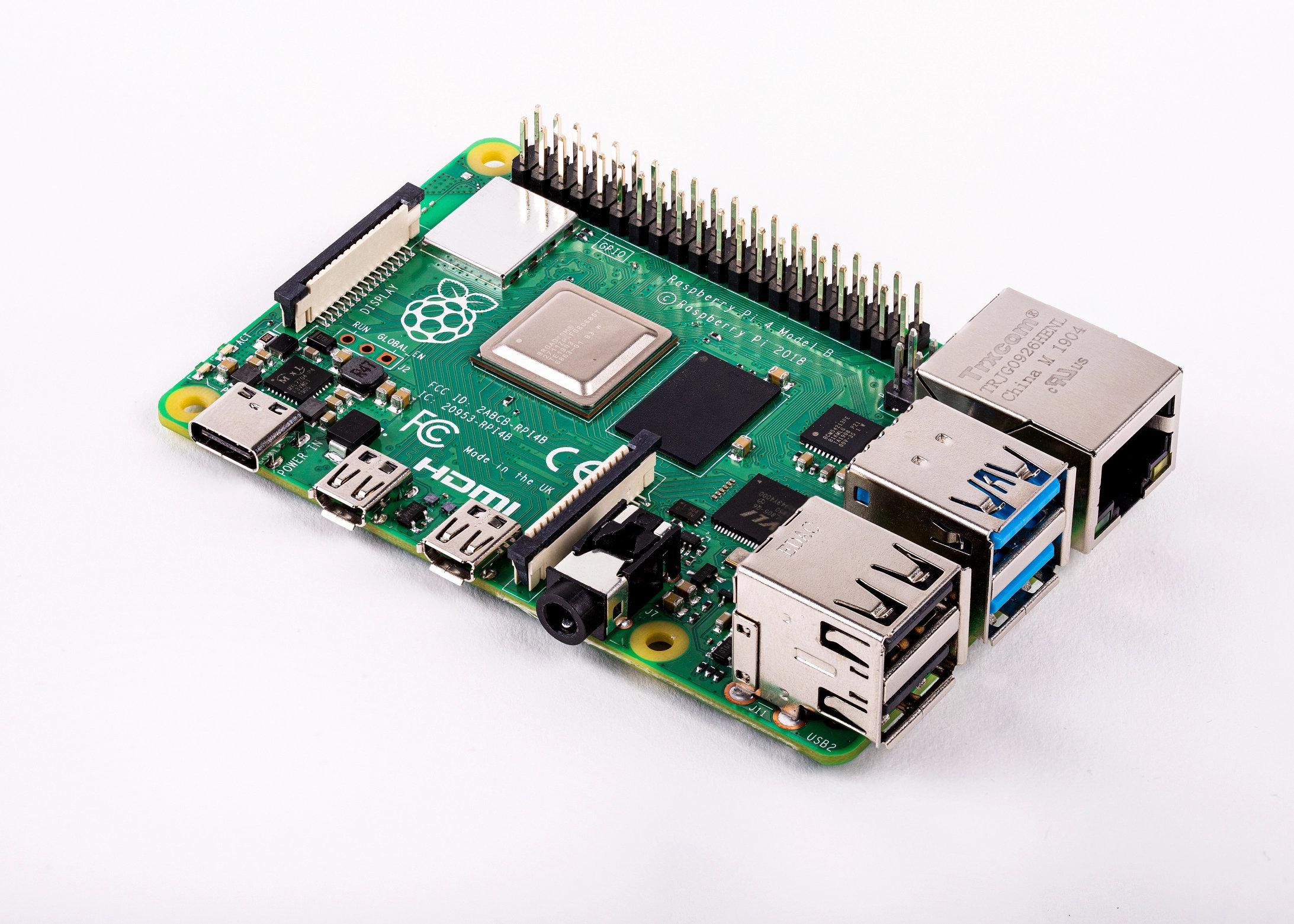 Image 1 : Le nouveau Raspberry Pi 4 est disponible : trois fois plus puissant !