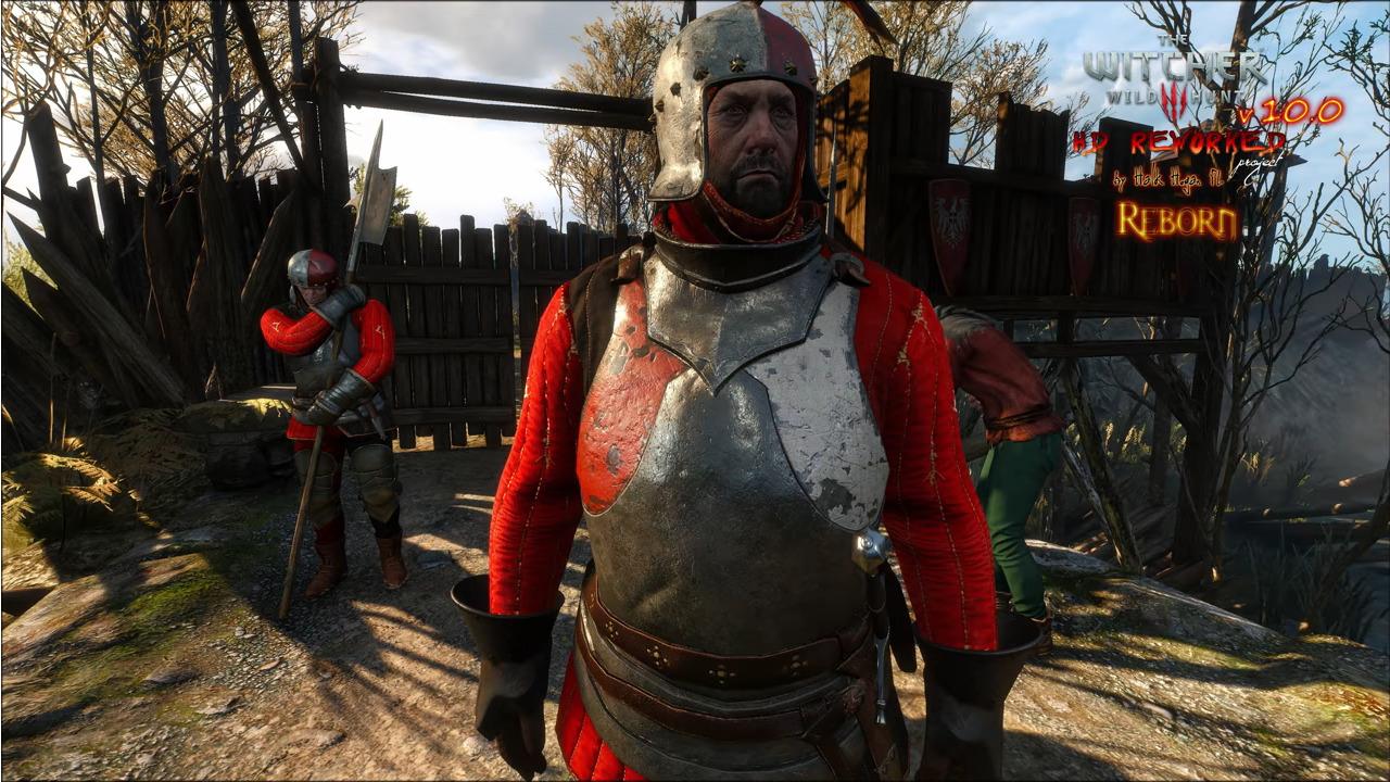 Image 1 : Vidéo : mod HD Reworked Project pour The Witcher 3, la comparaison avant-après