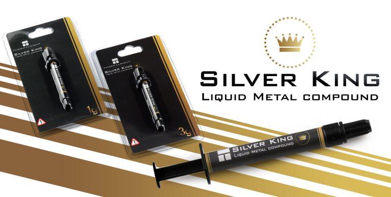 Image 1 : Thermalright lance sa pâte thermique Silver King en métal liquide !