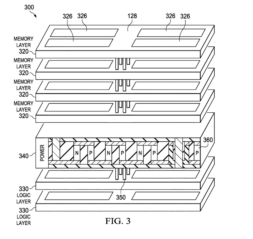 Image 1 : AMD : des processeurs empilés refroidis grâce à l'effet Peltier ?