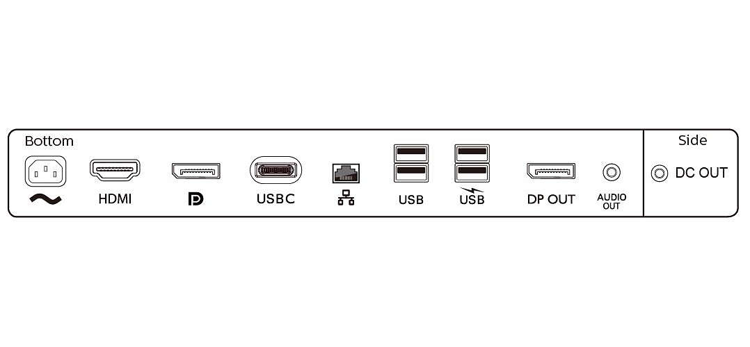 Image 3 : Philips : deux moniteurs en 24 et 27 pouces avec station d'accueil USB-C