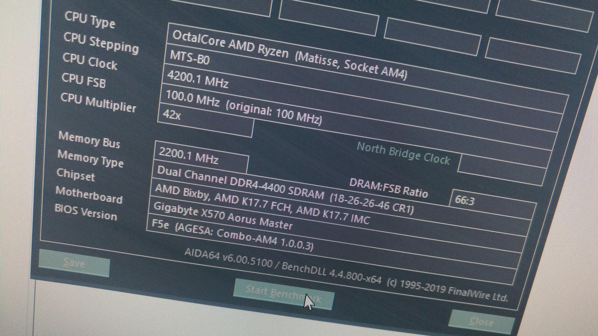 Image 1 : Premiers tests : les Ryzen 3000 overclockent la DRAM à merveille !