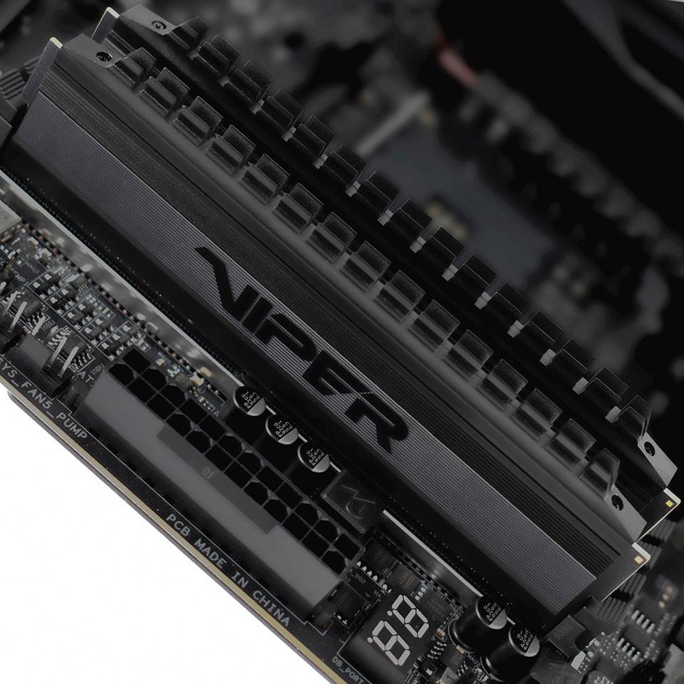 Image 2 : Patriot : des barrettes DRAM Viper 4 Blackout pour Ryzen 3000 jusqu'en DDR4-4000