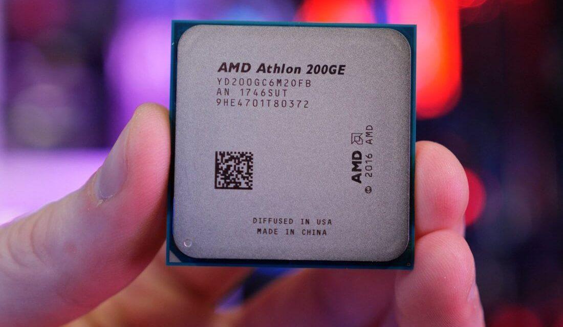 Image 1 : Ryzen 3000 : AMD prête un Athlon 200GE pour mettre à jour sa carte mère