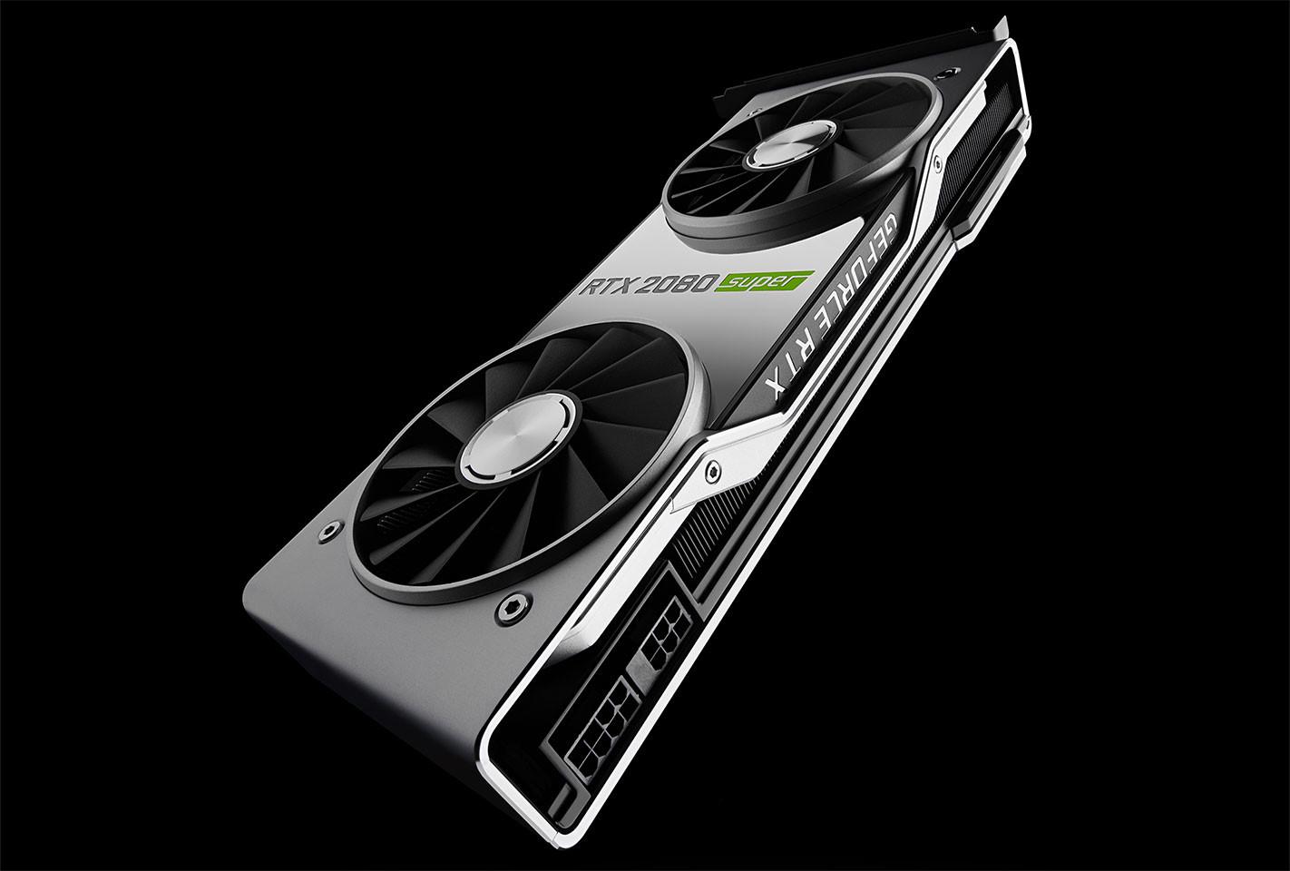 Image 1 : NVIDIA RTX 2080 Super : une vitesse mémoire à 15,5 Gpbs et plus de cœurs CUDA !
