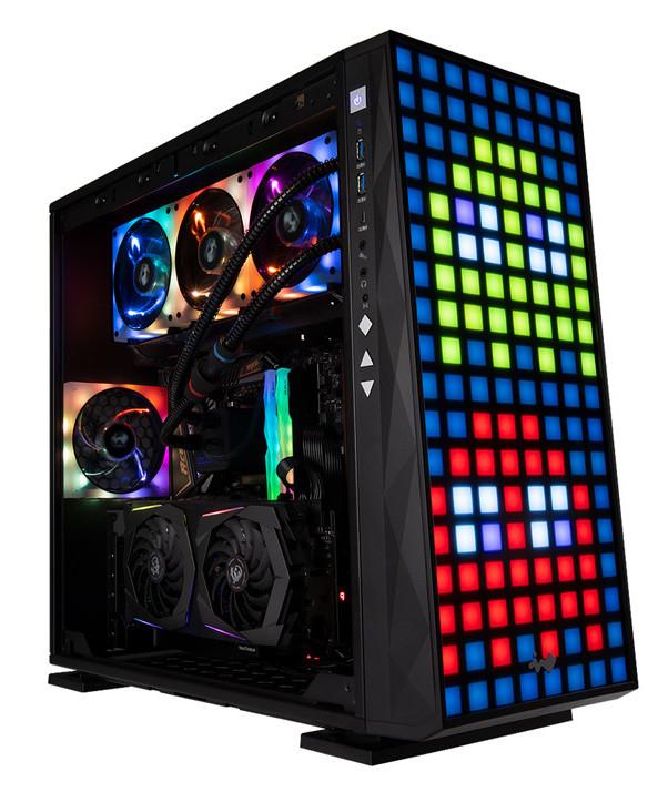 Image 3 : In Win 309, un boîtier avec 144 zones RGB en façade !