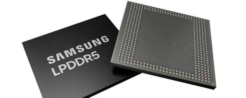 Image 1 : Samsung produit en masse des dies de 12 Gb de DRAM mobile LPDDR5 à 5500 Mbps