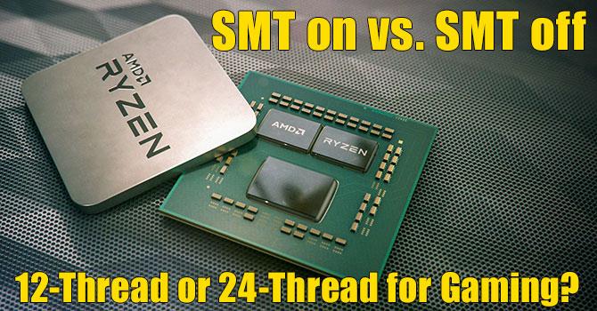 Image 7 : Faut-il activer le SMT du Ryzen 9 3900X en jouant ?