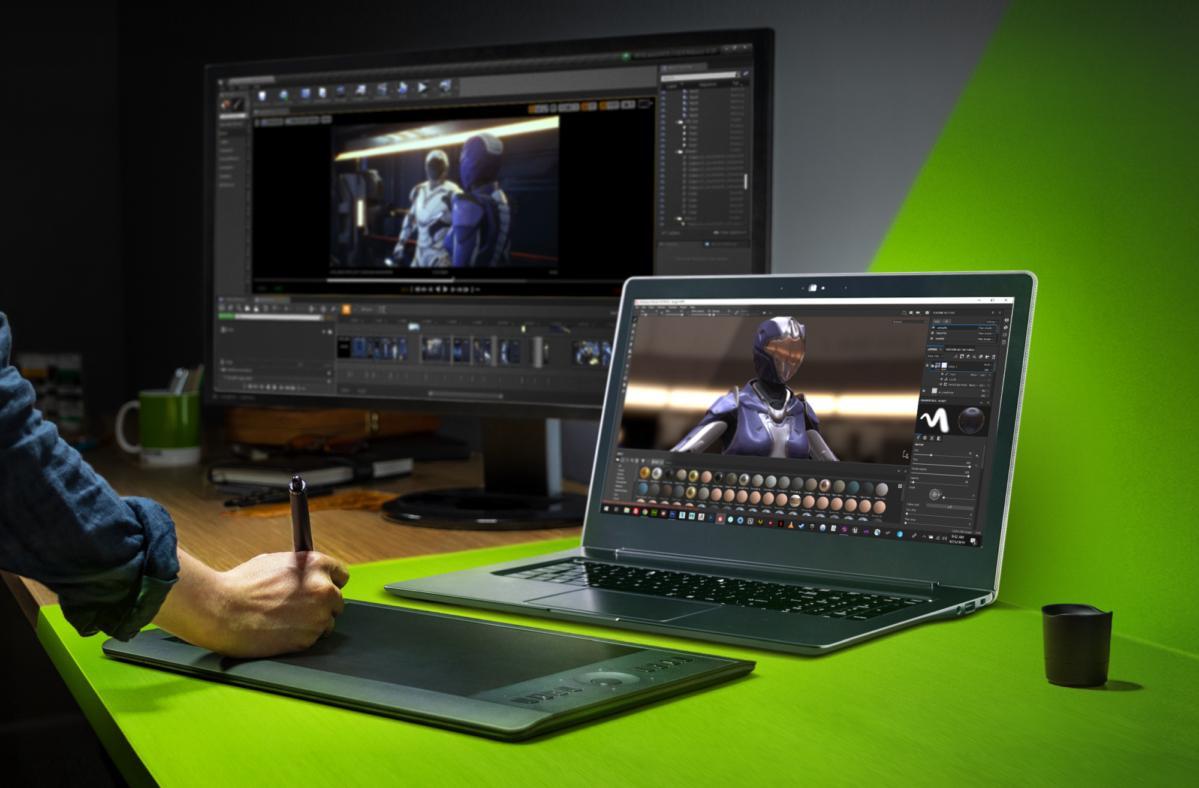Image 1 : La gamme de PC portables RTX Studio s'étoffe, de nouveaux logiciels compatibles RTX