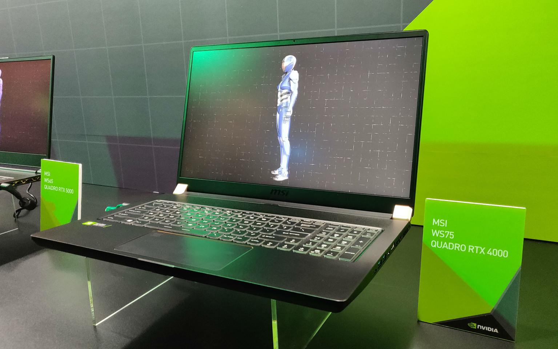 Image 2 : La gamme de PC portables RTX Studio s'étoffe, de nouveaux logiciels compatibles RTX