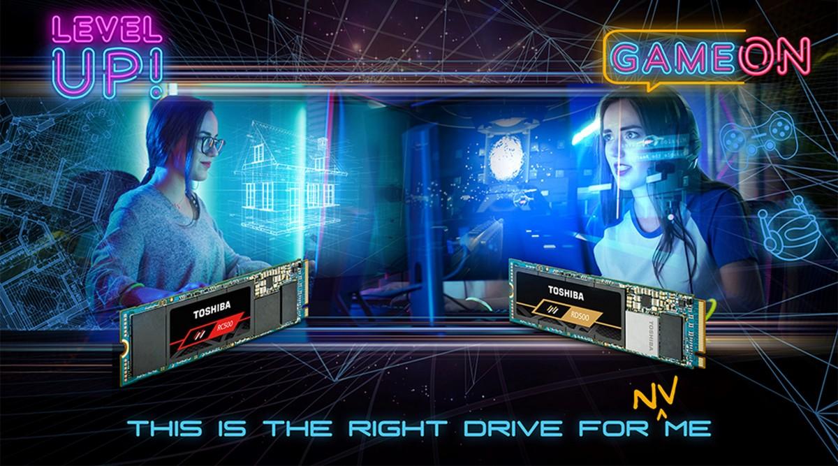 Image 1 : Toshiba RD500 et RC500 : des SSD M.2 NVMe avec de la flash 3D à 96 couches