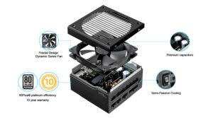 Image 4 : Fractal Design Ion+, des alimentations 80+ Platinium entre 107 à 140 euros