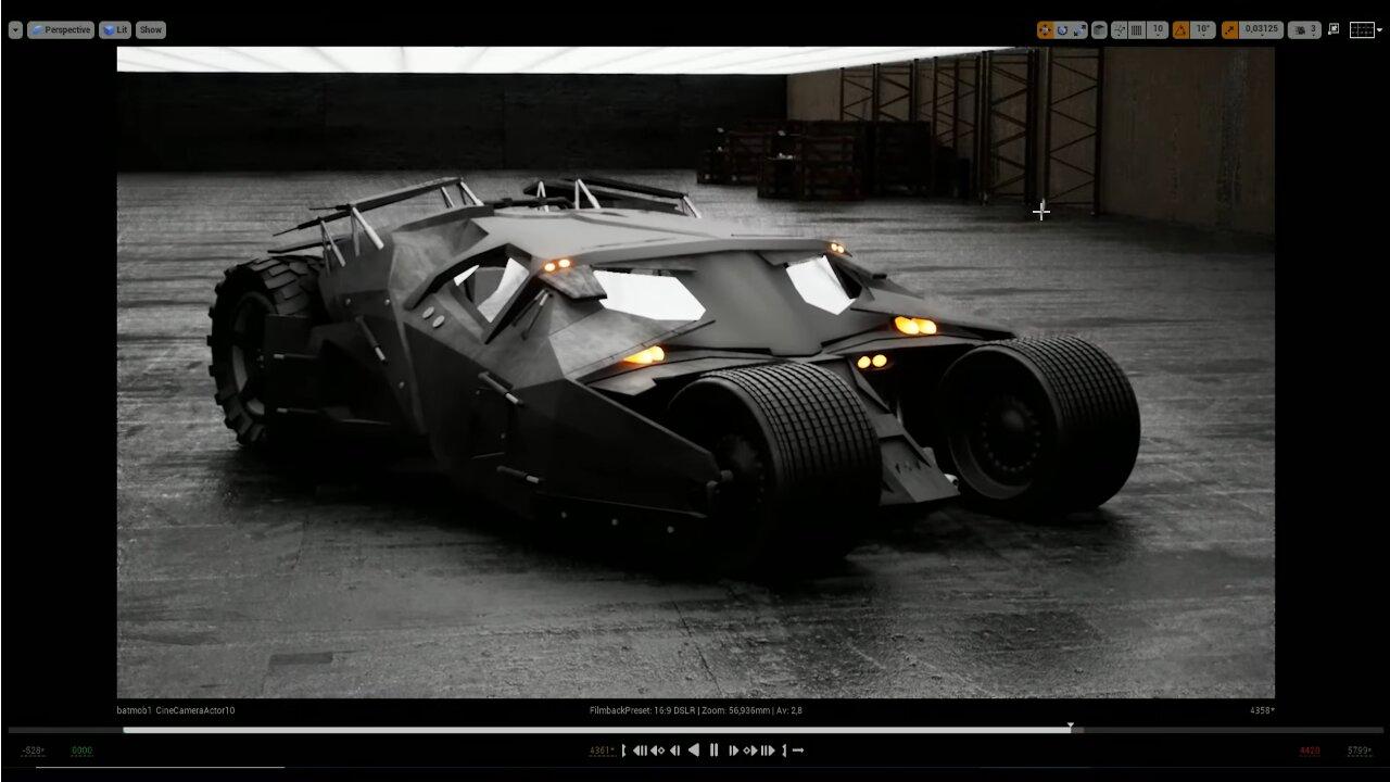 Image 1 : Vidéo : Matrix, The Dark Knight et Blade Runner 2049 en ray tracing sous Unreal Engine 4