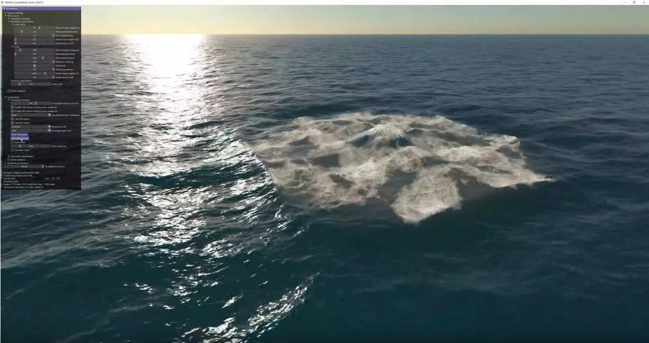 Image 1 : Vidéo : WaveWorks 2, difficile de faire mieux que ce simulateur de vagues