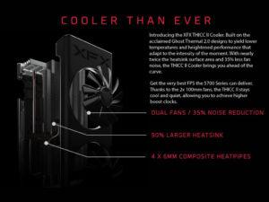 Image 4 : XFX donne tous les détails sur sa très belle Radeon RX 5700 XT THICC II