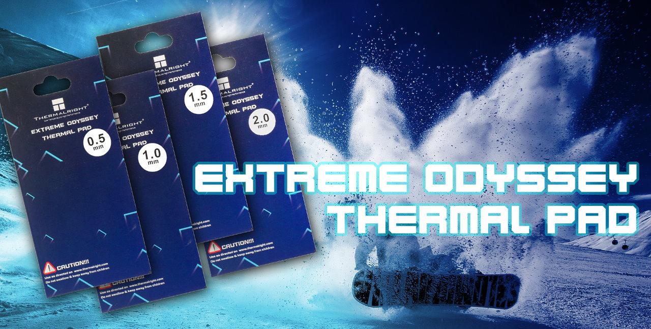 Image 1 : Thermalright lance ses pads thermique Odyssey, quatre épaisseurs proposées