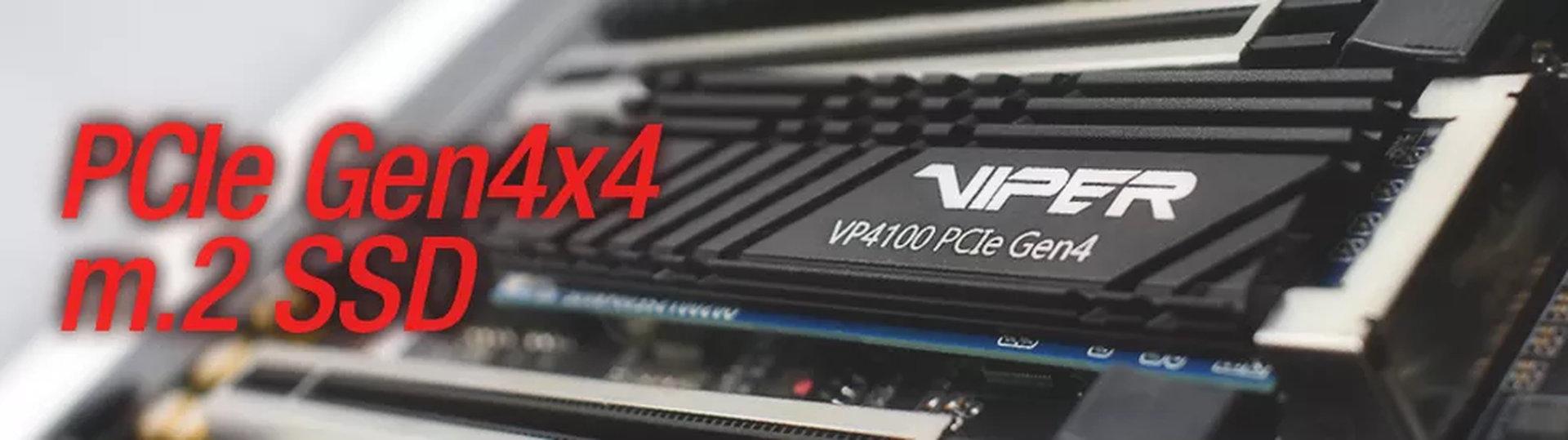 Image 1 : Patriot présente son SSD Viper VP4100, jusqu'à 5 Go/s en PCIe 4.0