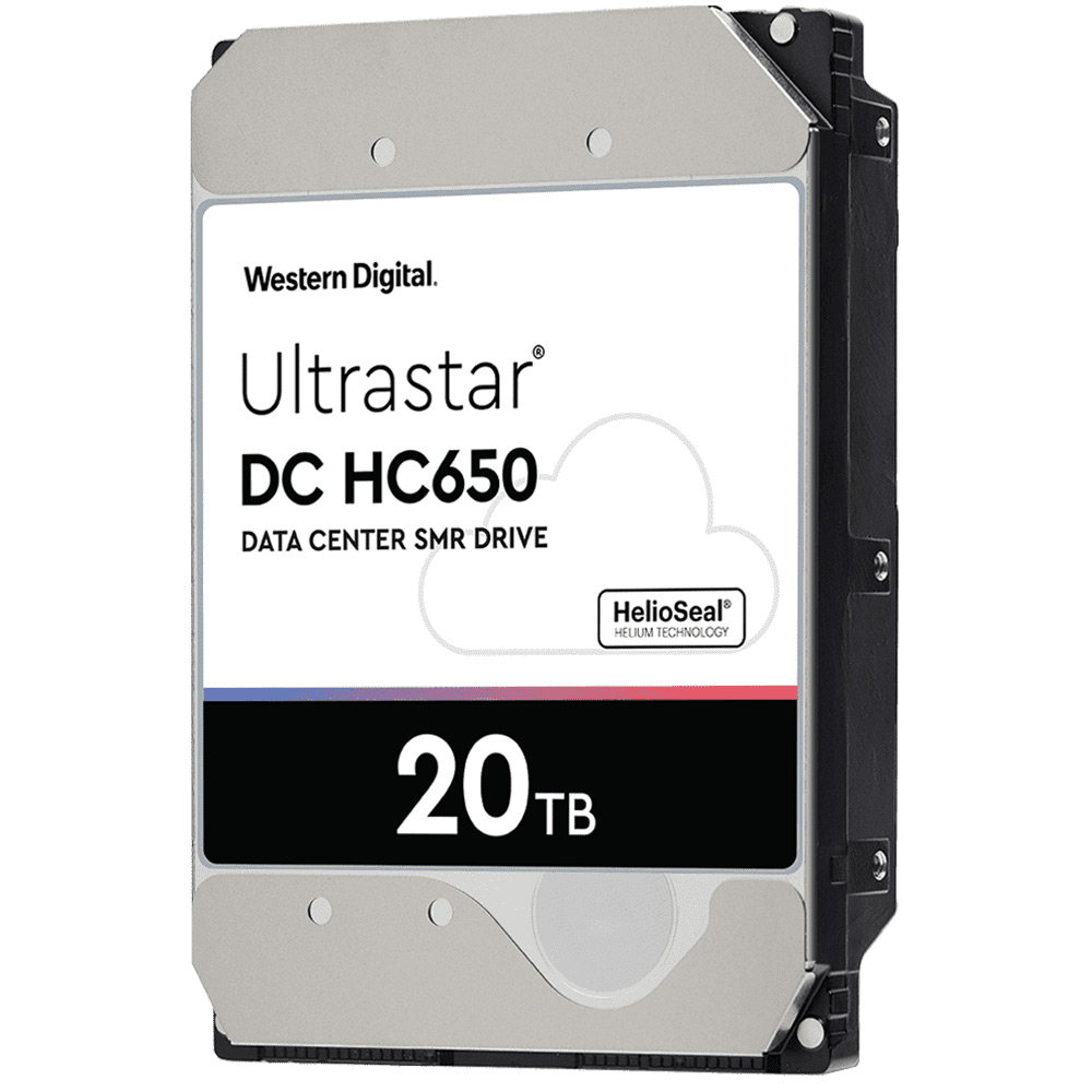 Image 1 : Western Digital repousse les limites du stockage : un disque dur de 20 To SMR !