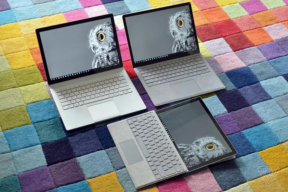 Image 1 : Les prochains appareils Microsoft Surface devraient embarquer des CPU AMD