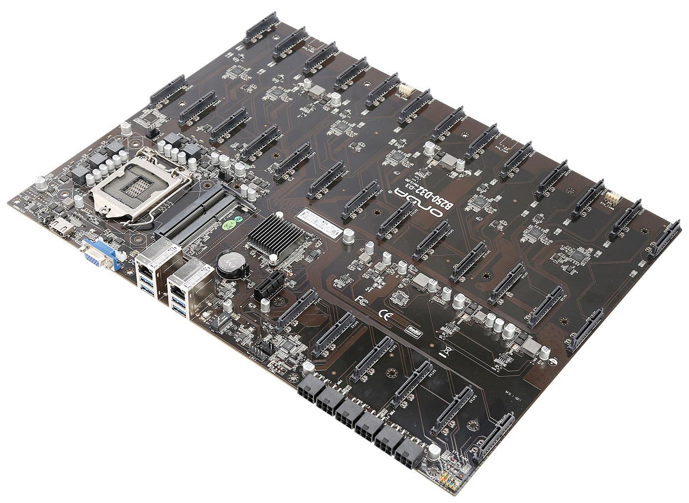 Image 2 : Une monstrueuse carte mère avec 32 ports SATA !