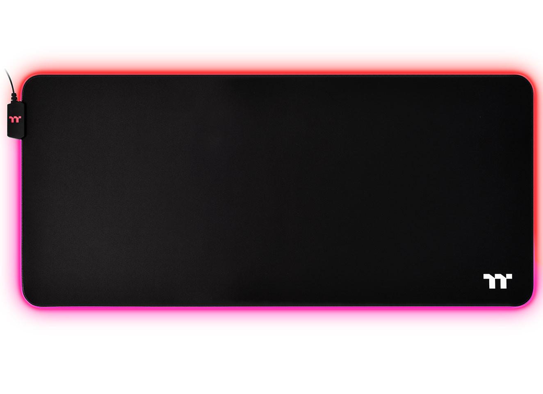 Image 3 : Thermaltake : deux tapis de souris illuminés RGB, qui coûtent le prix d'une souris