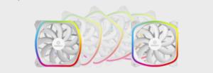 Image 2 : Enermax habille ses ventilateurs SquA RGB de blanc