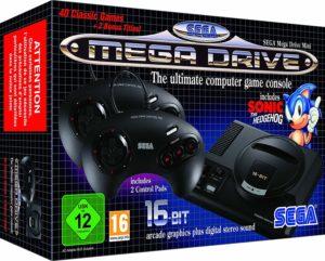 Image 1 : Mega Drive Mini : 42 jeux dans une minuscule console !