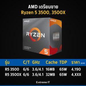 Image 3 : AMD : les Ryzen 5 3500 et 3500X affrontent le Core i5-9400F sur plusieurs jeux