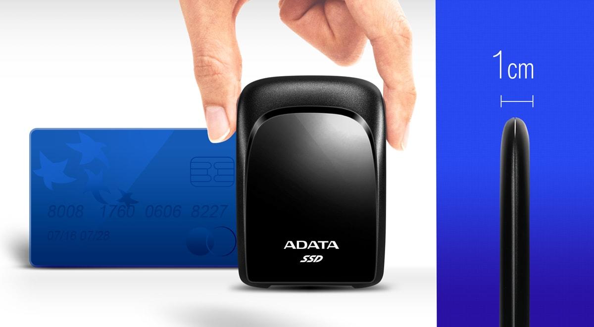 Image 1 : Adata sort un SSD externe en USB 3.2 Gen2 ultra fin et léger