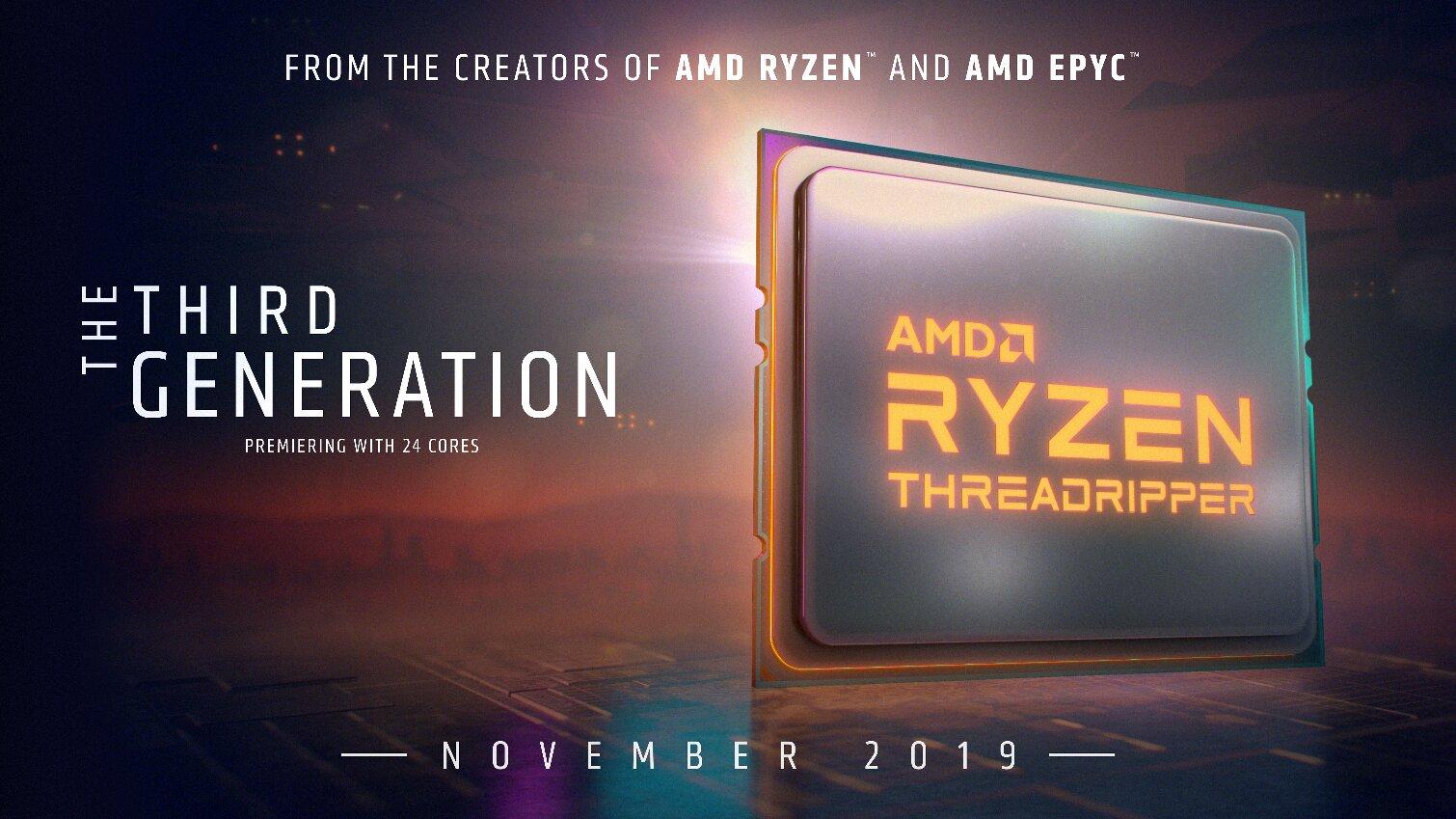 Image 1 : AMD repousse la sortie du Ryzen 9 3950X au mois de novembre