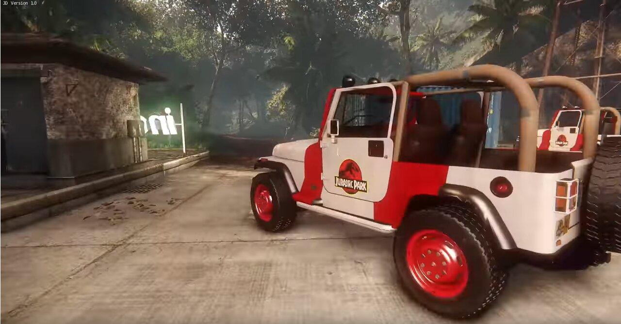 Image 1 : Vidéo : l'île de Jurassic Park refaite sous CryEngine, à télécharger gratuitement !