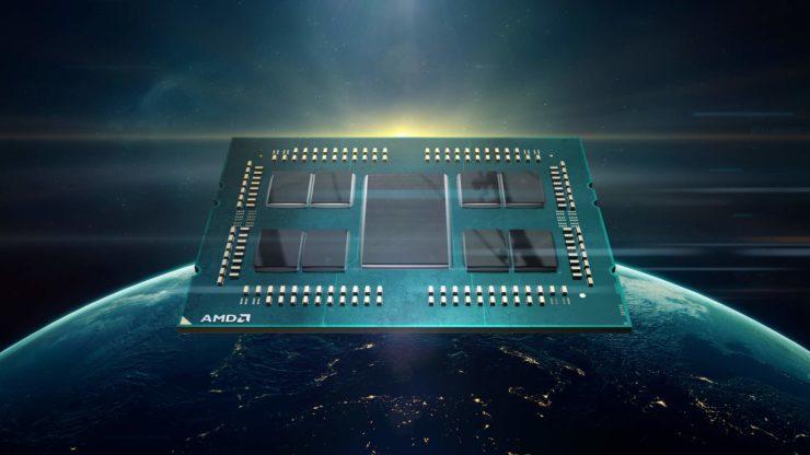 Image 1 : Un SMT à 4 threads par coeur pour les processeurs AMD Zen 3 Milan ?