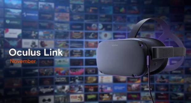 Image 1 : Le casque VR autonome Oculus Quest pourra afficher les jeux VR sur PC !