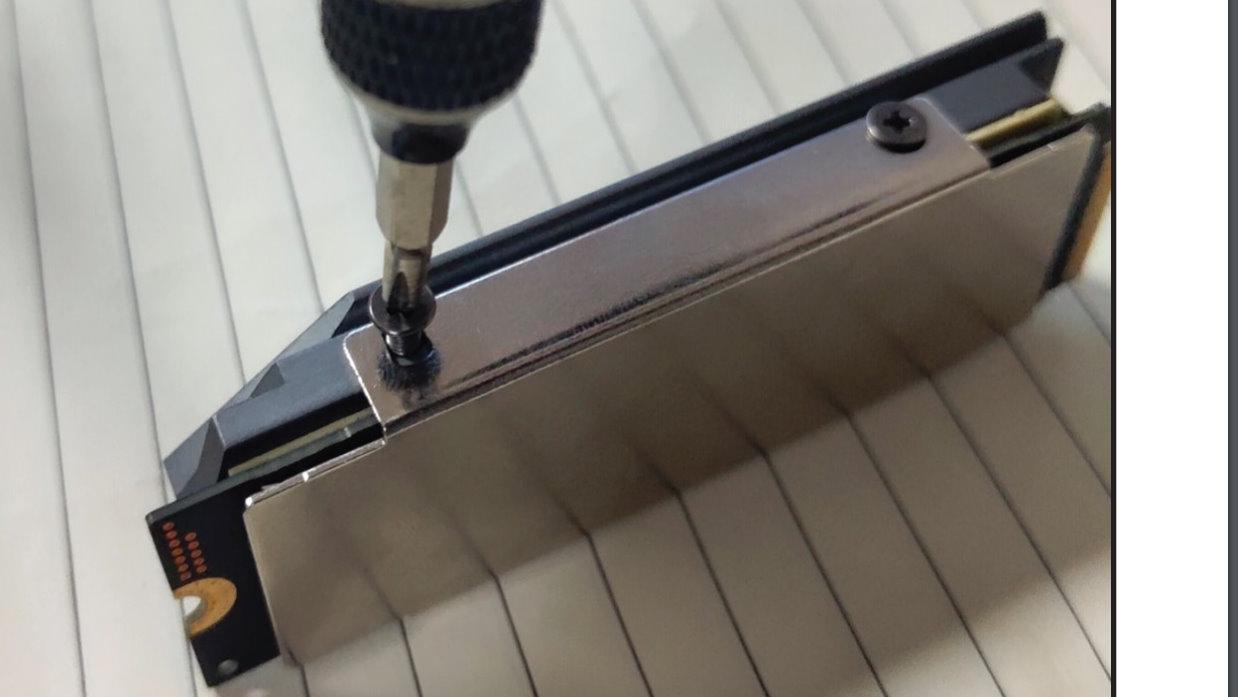 Image 4 : Thermalright lance un joli radiateur double face pour SSD M.2