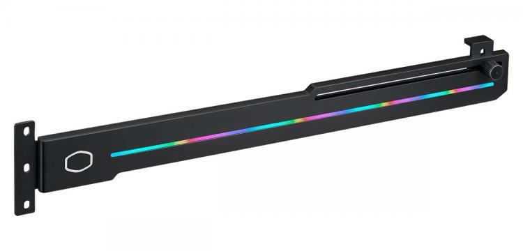Image 1 : Cooler Master présente l'ELV8, un support de carte graphique... encore en RGB !