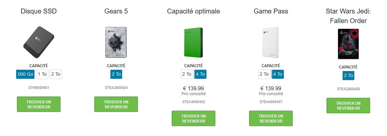 Image 3 : Seagate lance des HDD externes Star Wars et Gears 5 pour Xbox
